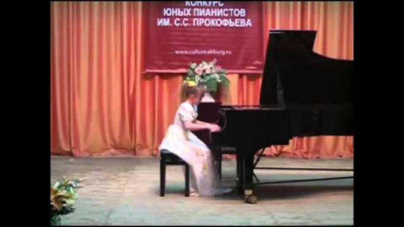 8 Международный конкурс юных пианистов им. С.С. Прокофьева, Екатеринбург - 1 преми ...