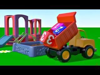 Le jeux biqle - Leo le camion benne ...