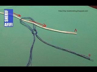 Как прикрепить новую нить к короткому концу (ткацкий узел)