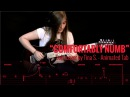 PINK FLOYD - COMFORTABLY NUMB - SOLO COVER BY TINA S - Animated Tab