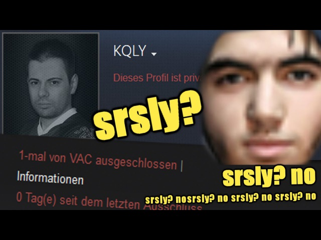 Reaction from ScreaM on KQLY being VAC-banned - He took my ** place