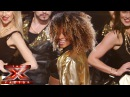 Fleur East sings Bruno Mars Mark Ronson's Uptown Funk | Live Semi-Final | The X Factor UK 2014