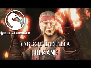 MORTAL KOMBAT X - LIU KANG ОБЗОР БОЙЦА - Кирилл Афонин