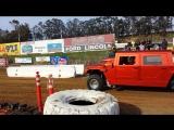 Сумасшедший Hummer H1. 10 литровый мотор, 3000 с лишним лошадиных сил...