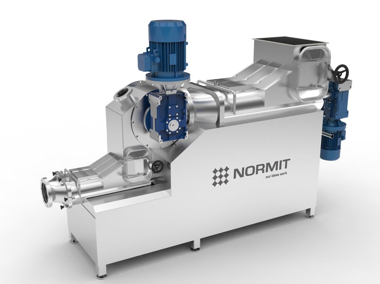 Вакуумный гомогенизатор текстуратор замороженного сливочного масла Normit BHV