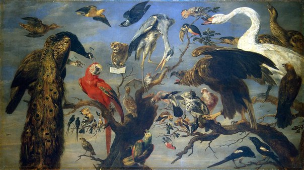 "Франс Снейдерс ""Птичий концерт"", 1630-1640"
