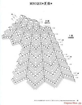 рукава схема вязания