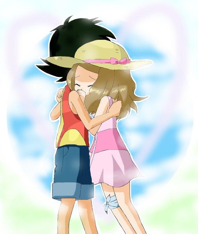 Ash x Serena - Ash and Serena Icon (37463626) - Fanpop