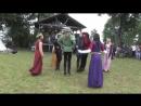 Medieval dance - Medieval festival in Trakai - Laiko pėdos