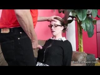 Трах секретарши в рот