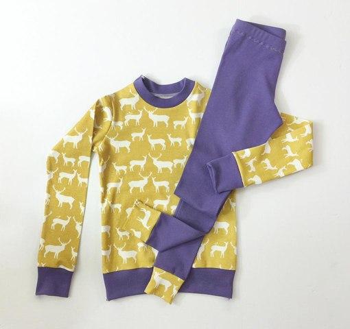 Детская пижама готовая выкройка