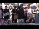 На сумському ринку стихійники торгують незважаючи на міліцію