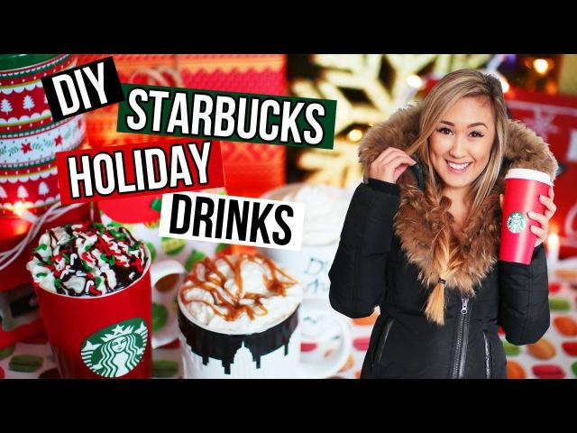 DIY Holiday Starbucks Drinks Easy Recipes for Christmas Drinks | LaurDIY