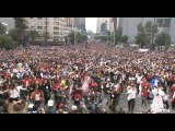World Record Michael Jackson Mexico City 13000 people thriller and beat it rehersal