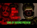 [FNAF SFM] Five Nights At Freddy's 3 Song By ROOMIE PREVIEW