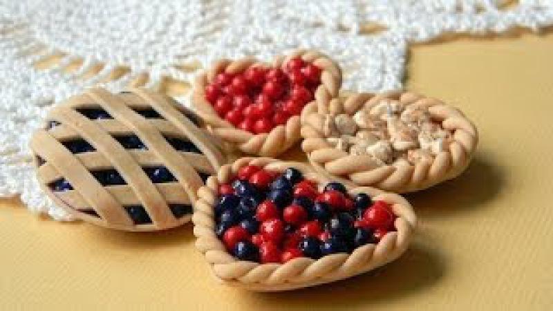 Делаем пироги из пластики. Making cakes of plastics.