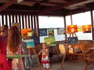 Творческие каникулы на море. Отзыв маленькой участницы.