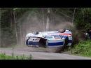 Аварии на ралли в Финляндии 8 WRC. Подборка раллийных аварий на авто гонках