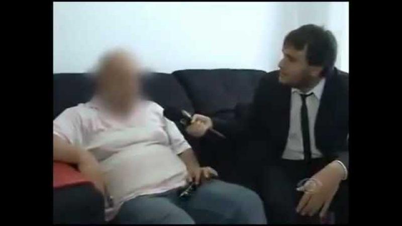 Cartoleiro pedófilo pego no flagra é humilhado por Ronald Rios do CQC
