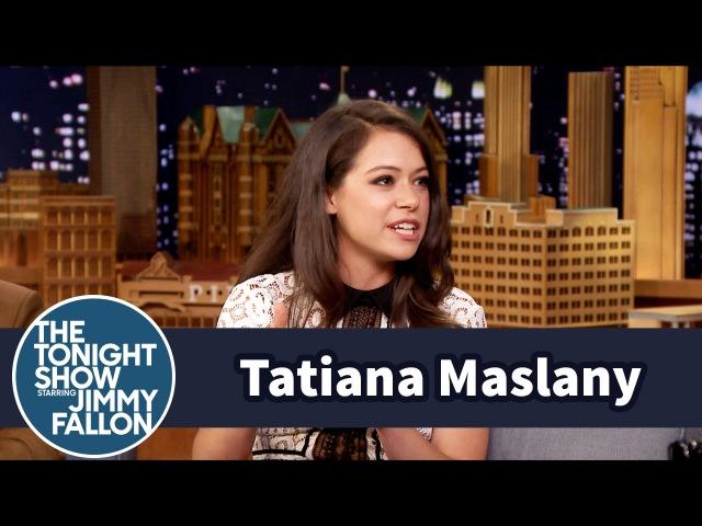 Hair and Makeup Helps Tatiana Maslany Keep Her Orphan Black Clones Straight 22.08.2015