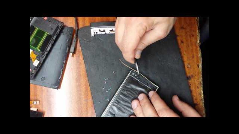 Sony Xperia S (LT26i) замена дисплейноо модуля