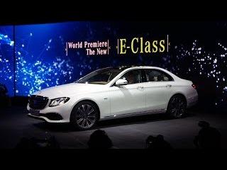 Mercedes-Benz: World Premiere – The new E-Class 2016