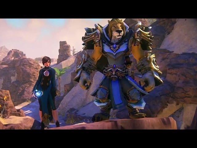 EverQuest Next Ingame Trailer zu Charakteren Umgebung