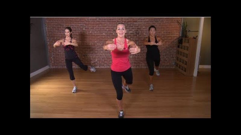 Victoria's Secret Model Workout: 10-Minute Fat-Blasting Circ