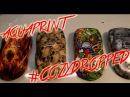 Аквапринт / Aquaprint / Immersion printing