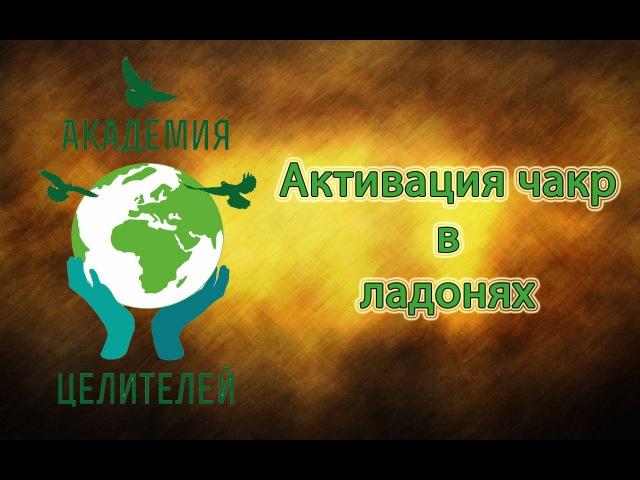Чакры человека / Активация чакр в ладонях [Николай Пейчев, Академия Целителей]