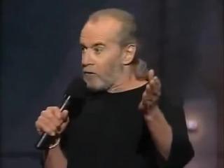 Джордж Карлин   Этот парень пиздец какой тупой  Стендап Standup