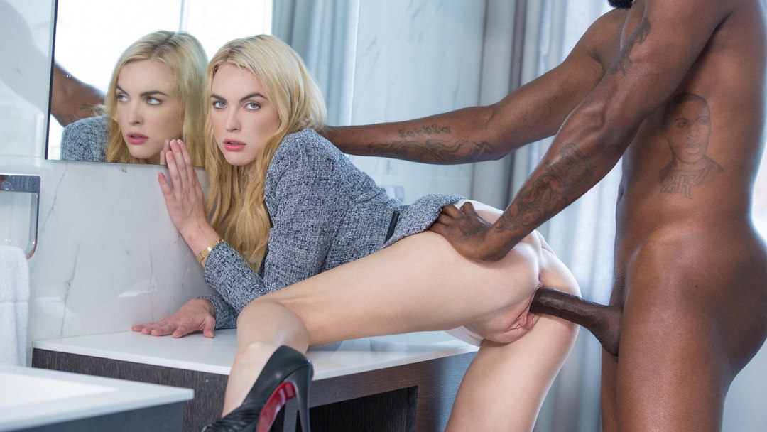 Blacked – Blonde Gets BBC at Interview – Keira Nicole & Flash Brown