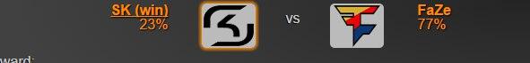 322 матч: http://csgolounge.com/match?m=8584