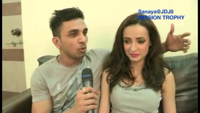 Интервью Санайя Ирани о танце с Мохитом Малик Джалак 05.09.2015