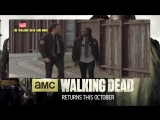 The Walking Dead Season 5 5x13 Forget Deleted Scene #1 - Rick  Michonne (DVD Blu Ray Extra)