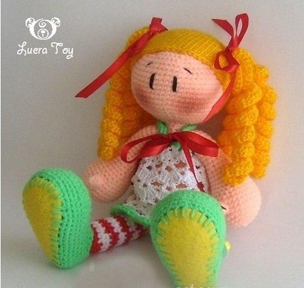 Scissorscare Вязаные игрушки - крючком! куклы крючком ...