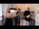 Девчата сделали очень крутой кавер на Red Hot Chili Peppers