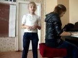 Саша Капустина - Вдох Выдох. Девочка читает рэп под пианино Супер!