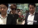 [직캠]20150808 Inchen Airport 입국 Lee Min Ho by.MinozToz