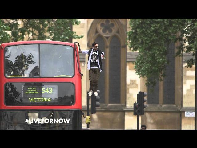 Pepsi Max Dynamo present Bus Levitation LiveForNow