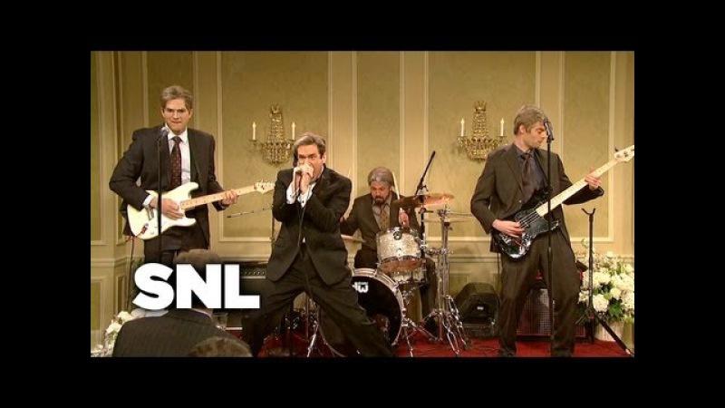Punk Band Reunion At The Wedding - SNL