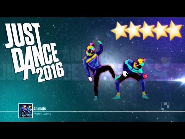 Animals - Just Dance 2016 - Full Gameplay 5 Stars KINECT