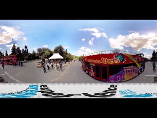 WOOW! Как снимают панорамы улиц!/ Видео 360° КЛАСС!!!