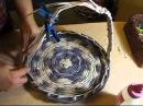 ▬► Плетение из газет ручек. Часть III. / Handles for baskets