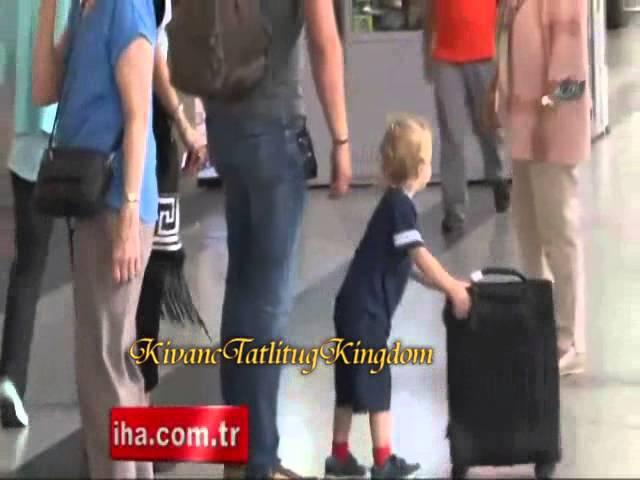 Kıvanç Tatlıtuğ Başak in Ataturk Airport ..16 .7 .2015