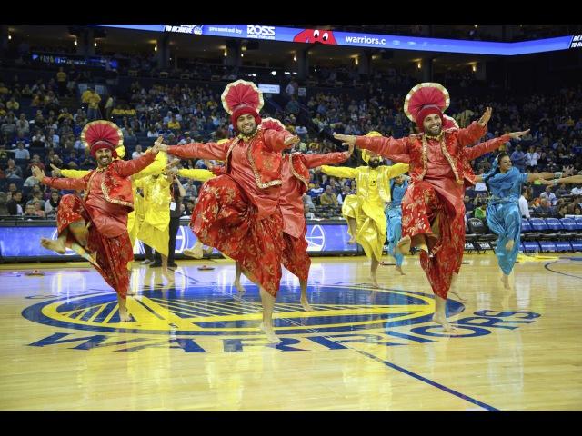 Bhangra Empire @ NBA Halftime Show (Warriors vs. Mavericks) 2014