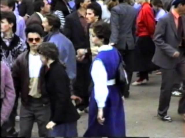 Вот зажигалово. Дискотека в СССР. 1989 г.