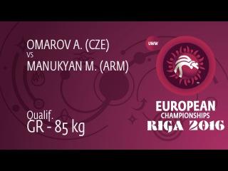 M. MANUKYAN (ARM) df. A. OMAROV (CZE), 3-0