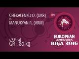R. MANUKYAN (ARM) df. O. CHEKALENKO (UKR), 4-2
