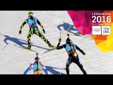 Biathlon - Single Mixed Relay - Full Replay | Lillehammer 2016 Youth Olympic Games